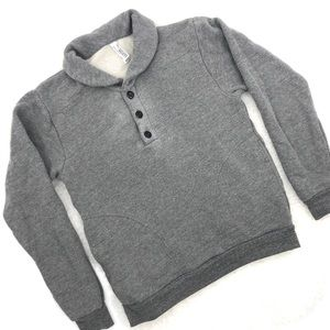 American Apparel Rugby Pullover Sweatshirt